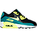 Right view of Boys' Grade School Nike Air Max 90 Mesh Running Shoes in