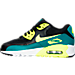 Left view of Boys' Grade School Nike Air Max 90 Mesh Running Shoes in