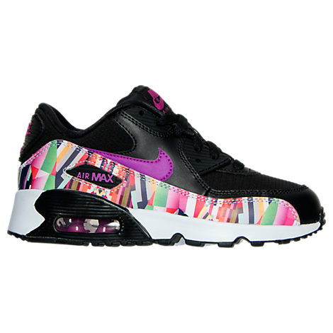 Girls' Preschool Nike Air Max 90 SE Mesh Running Shoes
