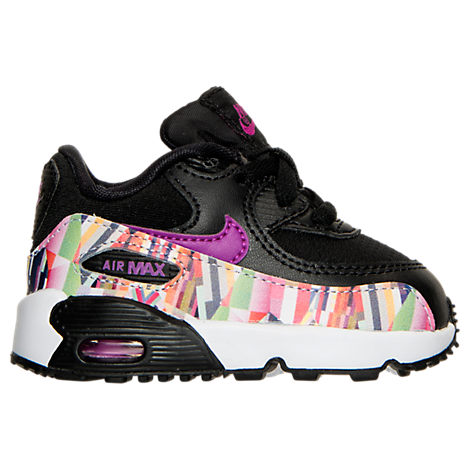 Girls' Toddler Nike Air Max 90 SE Mesh Running Shoes