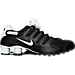 Right view of Men's Nike Shox NZ SL Running Shoes in Black/White/Wolf Grey/Anthracite