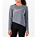 Women's Nike Dri-FIT Asymmetric Training Shirt Product Image