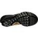 Bottom view of Boys' Grade School Nike Presto Casual Shoes in Black/Black/Metallic Gold/Wht
