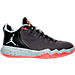Right view of Boys' Grade School Jordan CP3 9 AE Basketball Shoes in Anthracite/Black/Infrared 23