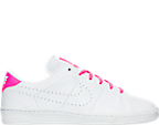 Girls' Grade School Nike Tennis Classic Premium Casual Shoes
