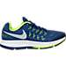 Right view of Boys' Grade School Nike Zoom Pegasus 33 Running Shoes in Deep Royal Blue/Metallic/Black