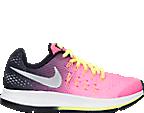 Girls' Grade School Nike Zoom Pegasus 33 Running Shoes