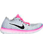 Girls' Grade School Nike Free RN Flyknit Running Shoes