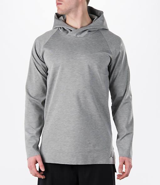 Men's Air Jordan 23 Lux Long-Sleeve Hooded Shirt