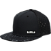 Front view of Kids' Nike LeBron S+ True Snapback Hat in Black