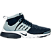 Right view of Men's Nike Air Presto Flyknit Ultra Running Shoes in Collegiate Navy/Collegiate Navy