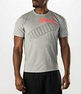 Men's Puma Tilted Logo T-Shirt