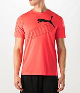 Men's Puma Tilted Logo T-Shirt