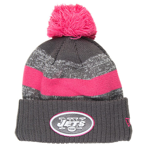 New Era New York Jets NFL 2016 Breast Cancer Awareness Sport Knit Hat