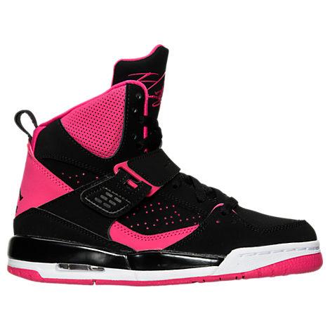 Girls' Grade School Jordan Flight 45 High IP (3.5y-9.5y) Basketball Shoes