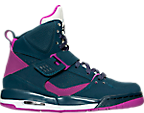 Girls' Grade School Jordan Flight 45 High IP (3.5y-9.5y) Basketball Shoes