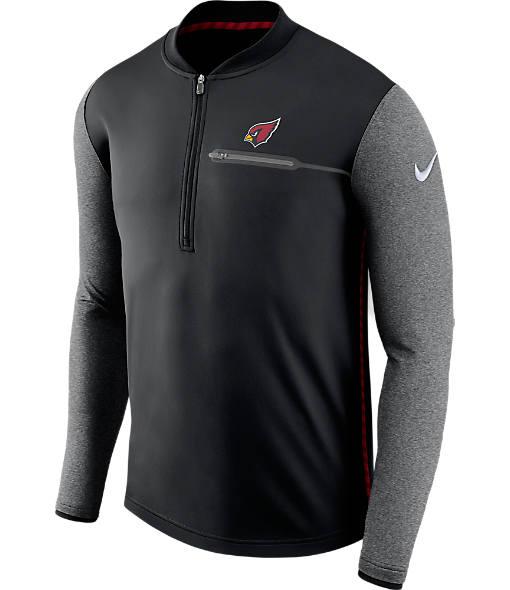 Men's Nike Arizona Cardinals NFL Coaches Half-Zip Jacket