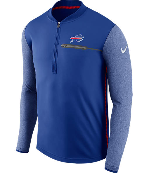 Men's Nike Buffalo Bills NFL Coaches Half-Zip Jacket