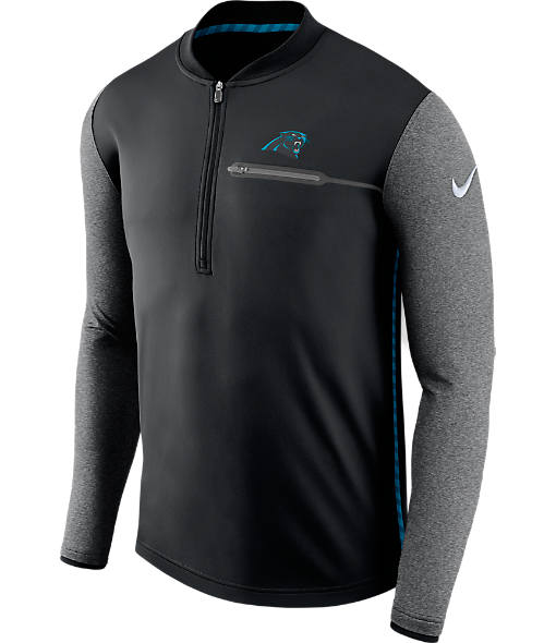 Men's Nike Carolina Panthers NFL Coaches Half-Zip Jacket