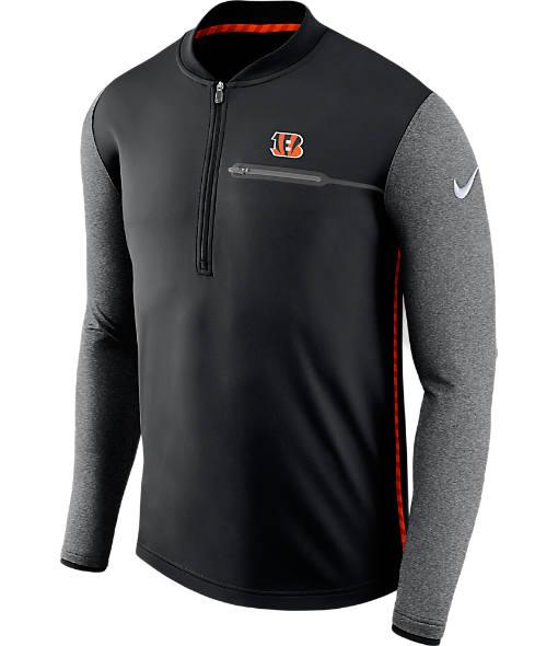 Men's Nike Cleveland Browns NFL Coaches Half-Zip Jacket