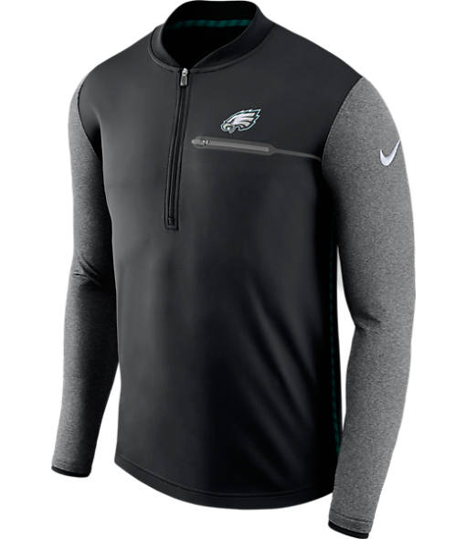 Men's Nike Philadelphia Eagles NFL Coaches Half-Zip Jacket
