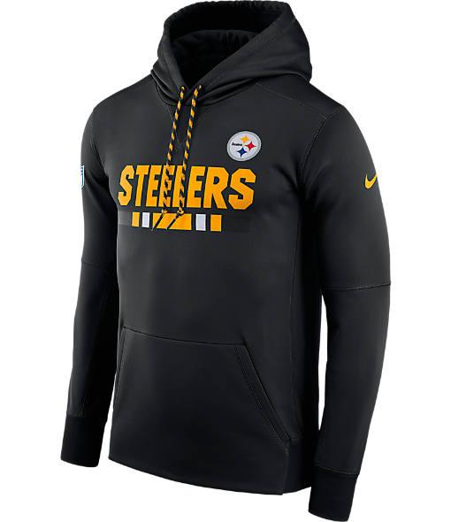 Men's Nike Pittsburgh Steelers NFL Sideline Hoodie