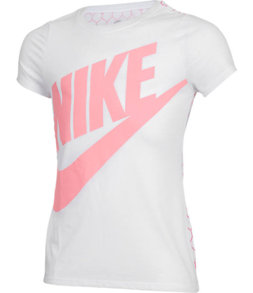 Girls' Nike Futura Short-Sleeve T-Shirt