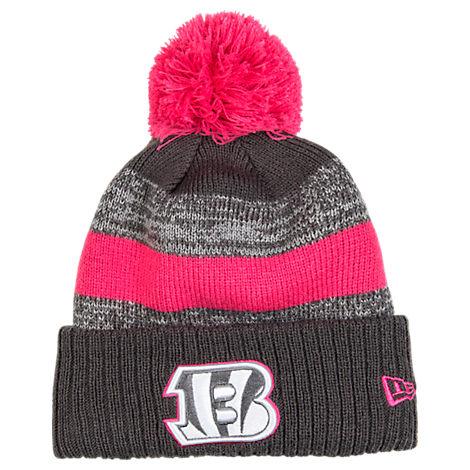New Era Cincinnati Bengals NFL 2016 Breast Cancer Awareness Sport Knit Hat