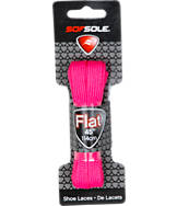 SofSole 45 inch Pink Flat Lace
