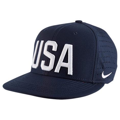 Kids' Nike USA Trucker Snapback Hat