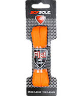 SofSole 45 inch Orange Flat Lace