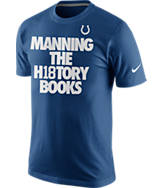 Men's Nike Indianapolis Colts NFL Peyton Manning History Books T-Shirt