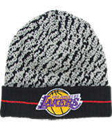 New Era Los Angeles Lakers NBA Boost Hook Knit Hat