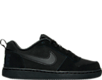 Boys' Grade School Nike Court Borough Low Casual Shoes