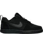 Boys' Preschool Nike Court Borough Low Casual Shoes