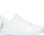 Boys' Preschool Nike Court Borough Low Casual Shoes