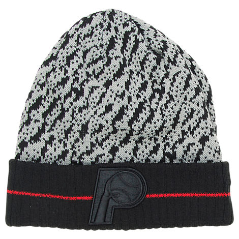 New Era Indiana Pacers NBA Boost Hook Knit Hat