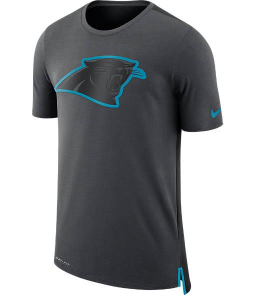 Men's Nike Carolina Panthers NFL Mesh Travel T-Shirt