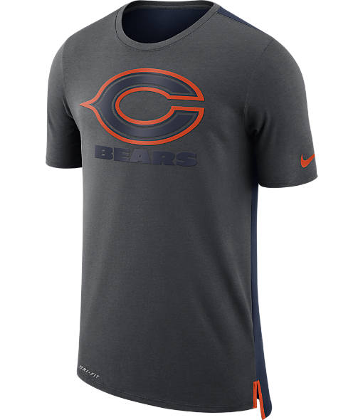 Men's Nike Chicago Bears NFL Mesh Travel T-Shirt