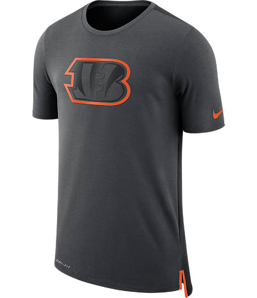 Men's Nike Cincinnati Bengals NFL Mesh Travel T-Shirt
