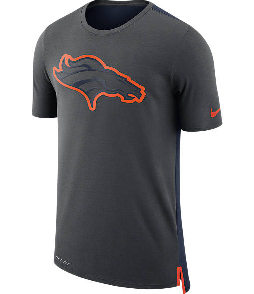 Men's Nike Denver Broncos NFL Mesh Travel T-Shirt