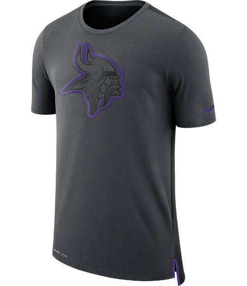 Men's Nike Minnesota Vikings NFL Mesh Travel T-Shirt