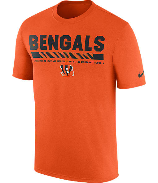 Men's Nike Cincinnati Bengals NFL Legend Staff T-Shirt