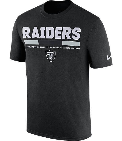 Men's Nike Oakland Raiders NFL Legend Staff T-Shirt