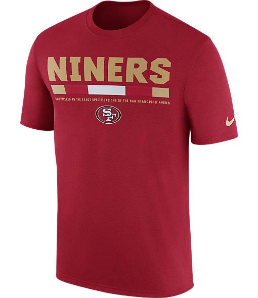 Men's Nike San Francisco 49ers NFL Legend Staff T-Shirt