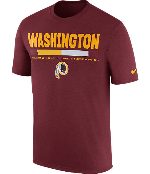 Men's Nike Washington Redskins NFL Legend Staff T-Shirt