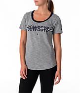 Women's Nike Dallas Cowboys NFL Strike Slub T-Shirt