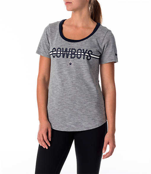 Women's Nike Dallas Cowboys NFL Strike Slub T-Shirt