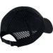 Back view of Women's Nike Sportswear Heritage 86 Adjustable Hat in Black/White