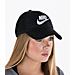 Alternate view of Women's Nike Sportswear Heritage 86 Adjustable Hat in Black/White